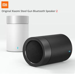 flash drives linterna Rebajas Al por mayor- 2016 Original Xiaomi Mi Bluetooth 4.1 Altavoz 2 Altavoces de Audio Inalámbricos Soporta Llamadas Manos Libres HiFi manos libres Altavoz