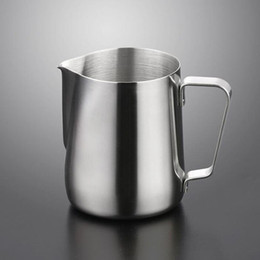 Wholesale Espresso Mugs - 150ml Stainless Steel Coffee Latte Milk Frothing Mug Pitcher Jug for Espresso Frothers Latte Art Drinkware ZA4111