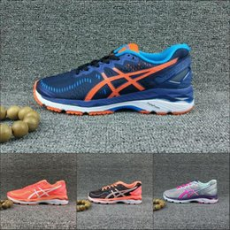 f9a997a297d 2018 Hot Asics Gel-Kayano 23 New Running Shoes Women Men T696N T646N T5809N  T697N Original Boots Stable Athletics Discount Sneakers 36-45