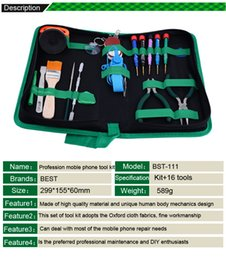 Wholesale Laptops 16 - Best Quality Disassemble Tools Set for Laptop&Phone BEST BST-111 16 Pieces in 1 Repaire Set with Free Shipping