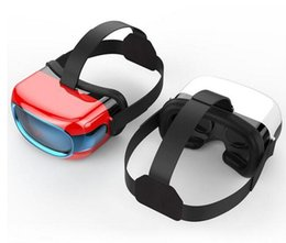 Wholesale Android 5inch - New Cheap Fashion Newest Design 3D VR All-in-one Headset Android 5.1 VR Glasses 5inch Virtual Reality Headset 3D Movie Game Glasses DHL