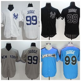 Wholesale Yankees Aaron Judge Baseball Jersey Blue All Star Game Jersey Cheap Baseball Jersey Online Sale Customs Baseball Shirts Shop