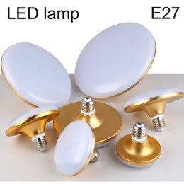 Wholesale E27 23w Bulb - Wholesale- E27 LED Bulb Light 220V UFO LED Lamp 8W 13W 23W 40w Waterproof Dustproof Lampada Bombilla LED Umbrella light Explosion