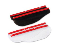 Wholesale Auto Car Rearview Mirror Cover - 2PCS Auto Rearview Mirror Rain Shade Car-styling Universal PVC Back Side Mirror Eyebrow Covers Car Stickers Exterior Accessories