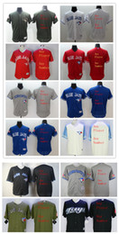 Wholesale Mixed Numbers - Customized Jerseys Flexbase or Majestic or women or kids any player number any name Stitched Toronto Blue Jays Mix Order