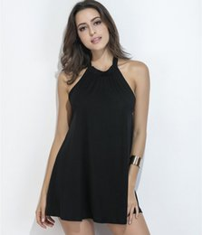 Wholesale cute women club dresses - women fashion black skirt cute and sexy Summer new fashion dress sexy Strapless backless skirt A
