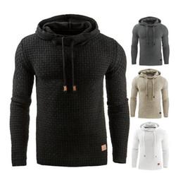 Wholesale Long Black Sweater Coat Plus Size - Men's Winter Hoodie Warm Hooded Sweatshirt Coat Jacket Outwear Sweater 4 Colors Plus Size XXXXL