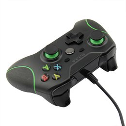 Wholesale Game Controller Joystick Xbox - Game Controller Gamepad USB Wired Game Control game handle gamepad PC Joypad Joystick Accessory For Xbox One Laptop computer PC Games