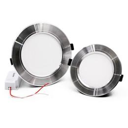 Wholesale Dimmable Led Csa - 10W 15W 20W Led Down Lights Dimmable Led Downlights Recessed Ceiling Lights AC 110-240V CE UL CSA SAA
