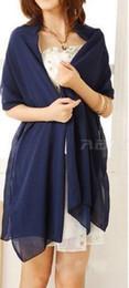 2019 красная куртка из искусственного меха Дешевые свадебная куртка обертывания Болеро шифон женщины Cap Wrap Shrug для вечерних платьев пользовательский цвет Бесплатная доставка 180 см 70 см ширина