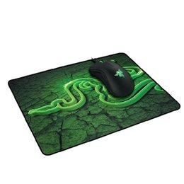 Wholesale Dhl Mouse - Quality Mantis Speed Edition Razer Gaming Mouse Pad Mat Locked Edge Desk Pad for LOL Dota 2 CS GO World Warcraft OEM Support DHL Fre