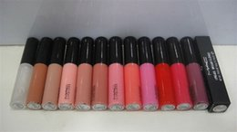 Mejores labios online-Venta caliente de buena calidad Mejor venta más baja Buena venta Producto más nuevo Más nuevo Brillo de labios Doce colores diferentes 12pcs