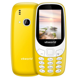 Wholesale Cheap Dual Camera Mobile Phones - 30pcs Wholesale Cheap 3310 Senior Mobile Phone VKworld Z3310 2.4 inch Dual SIM Card FM Camera LED Light