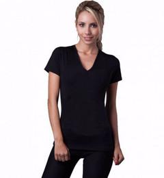 Wholesale Neoprene Slimming Shorts - Hot shapers women Neoprene T Shirts shaper stretchy Sweating slimming shirt short sleeve top weight loss for women B267-7