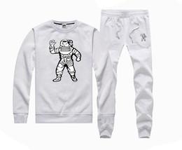 Wholesale Branded Brown Color Suit Men - Famous brand men hip hop suit hoodies pullover bbc Billionaire Boys Club sweatshirt+pants tracksuit clothing sudaderas moleton masculino