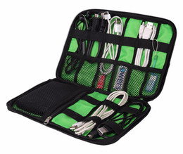 Wholesale Electronics Organizer Bag - Electronic Accessories Cable USB Drive Organizer Bag Portable Travel Insert Case ZH01455