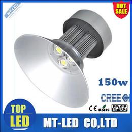Wholesale High Bay Lights Fixtures - LED High Bay Light Fixture LED Industrial Light 150W Energy Saving Workshop Lamp 15000LM LED Factory Light Meanwell Driver LED Lighting