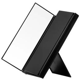 Pliable maquillage miroir mini pliable Portable Pliant Compact Cosmetic miroir portable avec détail emballage livraison gratuite ? partir de fabricateur