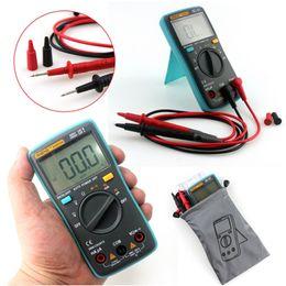 Wholesale Power Multimeter - High Accuracy ZT101 ZT102 Digital Multimeter LCD AC DC Automatic Range Power OFF Multimeter Ammeter Ohmmeter Resistance Capacitance Meter E0