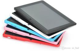 2019 chamando comprimidos hdmi Q88 (entretenimento, aprendizagem, dupla utilização) tablet quad-core 7 polegadas 8 g IPS comprimidos de tela comprimidos atacado e personalizado