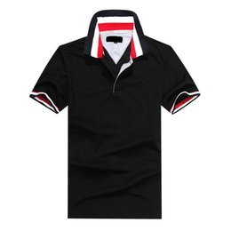 Wholesale international brand mens brand Polo shirt Polos men s short sleeve casual shirt polo suit golf classic style