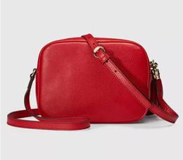 Wholesale Small Girls Leather Bag - 2018 New New Style Women Tassel Leather Soho Bag Disco Shoulder Bag Purse 8802