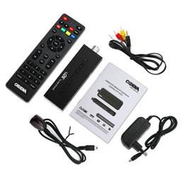 Wholesale Dvb T Usb Tv Box - TV Stick DVB-T2 Chromecast 1080P Digital Terrestrial TV Receiver Set Top Box Comply DVB-T  T2 H.264 MPEG4 3D HDMI USB Tv-tuner