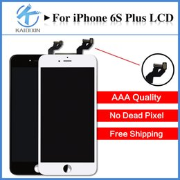 Wholesale free 3d frames - High Quality A+++ for iPhone 6S plus LCD Display with Touch Screen Digitizer with Frame 3D Touch Full Assembly Black White Free Shipping