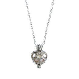 Wholesale Drop Pearl Wholesale Necklace Set - luxury Noble jewelry 10 Set Love Wish Pearl Necklace Set Oyster Drop Pendant