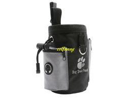 Wholesale Fast Dogs - 50pcs lot Fast shipping Dog Pet Puppy Obedience Agility Bait Training Food Treat Pouch Bag Dispenser Snack Reward Waist Bag