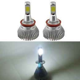 Wholesale H11 Led Xenon - FEELDO Super White H11 60W 6400LM Car COB LED Headlight Kit Fog Lamp Bulbs Light Xenon 6000k