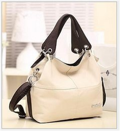 Wholesale hot women america - hot sell Europe and America fashion Designer brand women handbags PU leather Totes bags Inclined shoulder bag single shoulder bag