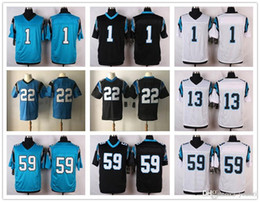 Wholesale Newton White - 2017 Draft # 22 Christian McCaffrey Jersey Carolina #1 Cam Newton #59 Luke Kuechly Panther#88 Greg Olsen american football jerseys