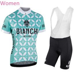Wholesale Bib Shorts Cycling Jersey Woman - 2017 Woman Cycling Jersey Maillot Ciclismo Short Sleeve and Cycling bib Shorts Cycling Kits Strap cycle jerseys Ciclismo bicicletas 92701