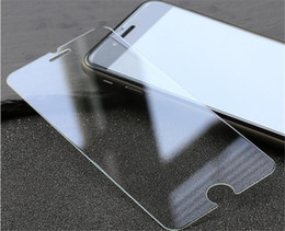 Wholesale Anti Glare Protectors - jcd Tempered Glass screen protectors for iphone7 8 plus 6s note7 Premium Real Film Screen Protector with paper package