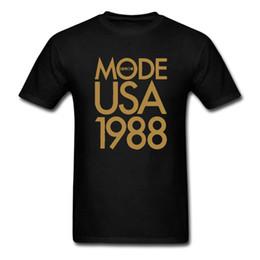 Wholesale usa tees - Depeche Mode 1988 USA Tour t shirt Pop Rock Men tee euro size S~XXXL