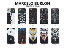 Wholesale Iphone Clothes - fashion clothes brand marcelo style phone case for iphone5 6 7 hot sale hard back cover