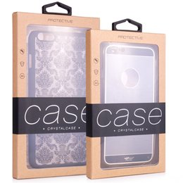 Wholesale Crafts Wholesale For Phone Cases - KJ-467 400 pcs Wholesale luxury craft paper packing packaging box for phone case for Samsung S8 iPhone 7 7 plus with inner insert