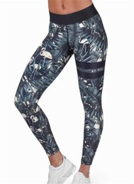 Wholesale Harajuku Leggings - animal and leaves striped print fitness legging pants female clothes athleisure push up elastic leggings for women harajuku jeg MTL170811