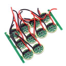 Wholesale Driver Board 5v - Cree Q5 LED Emitter Flashlight Driver 750ma constant current output 2.7-5V input 7135 x 2 flashlight Circuit Board