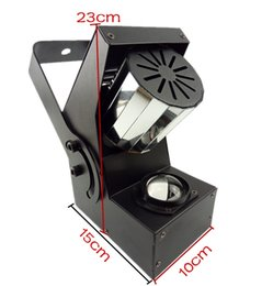 Wholesale Red Beam Disco Light - Factory wholesales 4pcs a lots 10W RGBW 9 Channel DMX 512 Mini Rotating Prism Roller Beam Scanner Effect LED Stage Light Lamp for DJ Disco