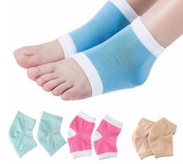 Wholesale Cracked Skin Feet - Foot Chapped Care Tool Moisturizing Gel Heel Socks Cracked Skin Care Protector Pedicure Health Monitors Massager
