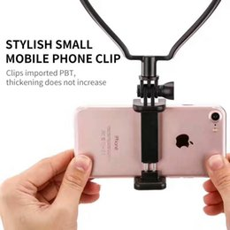 Wholesale Gopro Mount Dhl - 100PCS DHL Wearable Smartphone Mount Holder For Gopro hero 5 4 xiaomi yi sjcam sj4000 eken h9 action cam Go Pro session Accessories