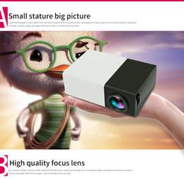 Wholesale Front Projection - Mini home theatre projector YG-300 mini LED projector 320*240 Resolution with power plug type UK AU US yg300 EU Front Rear projection
