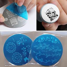 Wholesale Nail Stamping Printing - stamp plate 10pcs Mix Patterns Nail Art Stamp Plates Template Image Plate Stamping Polish Carimbo de Unha Airbrush Nail Stencil Print Tools