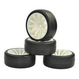 Wholesale Hsp 94123 - 4PCS Rubber RC Racing Tires Car On Road Wheel Rim Fit For HPI 1 10 HSP 94123 94122 94103