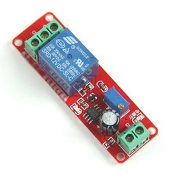 Wholesale Adjustable Timer - Wholesale- J34 Free Shipping New DC 12V Delay Timer Switch Adjustable Module 0 to 10 Second