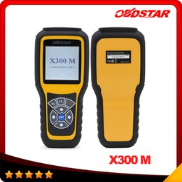 Wholesale Vw Can Key Programmer - OBDSTAR X300M OBDII Odometer Correction X300 M Mileage Adjust Diagnose Tool (All Cars Can Be Adjusted Via Obd) Update By TF Card DHL free