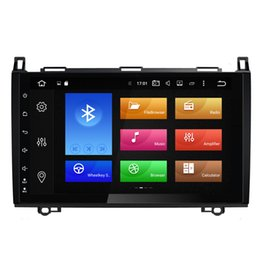 "Wholesale Mercedes Gps - 9"" Octa-core Android 6.0.1 System Radio Car DVD For BENZ A B Class W169 W245 Vito Viano VW Crafter LT3 B200 W318 WIFI 4G 2G RAM OBD DVR USB"