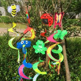 Giocattoli per insetti per bambini online-DHL SF_express Giocattolo da giardino in PVC per bambini in magazzino
